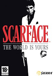 Scarface: The World is Yours, a video game based on the movie Scarface was released on different platforms in 2006 and 2007.