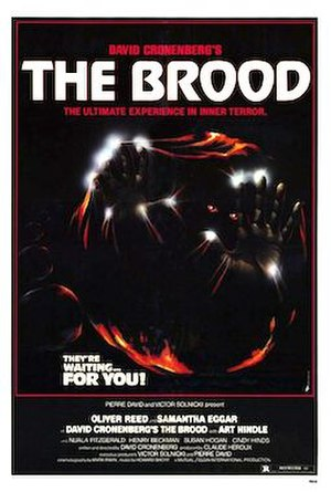 The Brood - Theatrical release poster