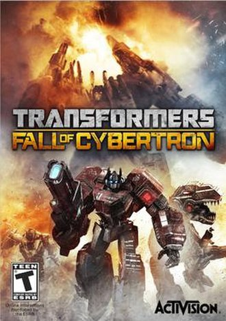 Transformers: Fall of Cybertron - Image: Transformers, Fall of Cybertron PC box art