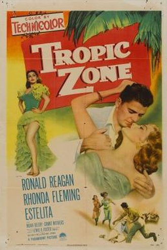 Tropic Zone (film) - Theatrical release poster