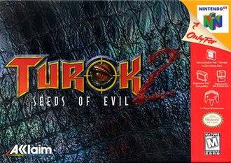 Turok 2: Seeds of Evil - Image: Turok 2box