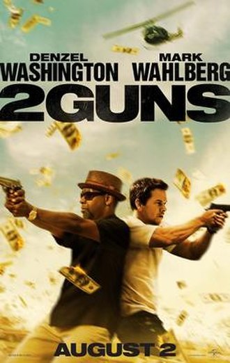 2 Guns - Theatrical release poster