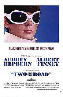<i>Two for the Road</i> (film) 1967 film by Stanley Donen