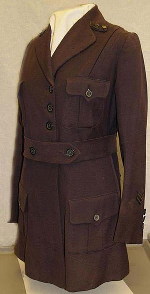 United States Army Nurse Corps - 1917 Army Nurse Corps Uniform Coat