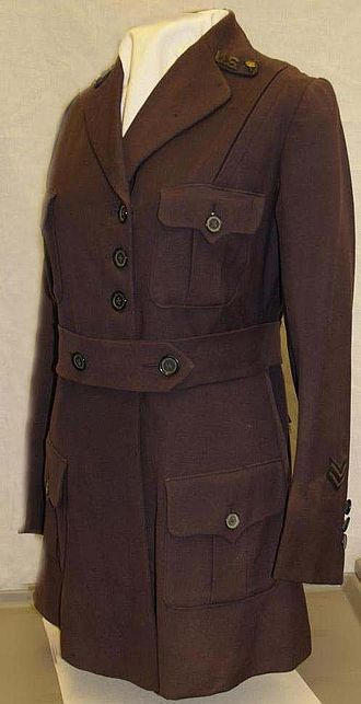 History of nursing in the United States - 1917 Army Nurse Corps Uniform Coat