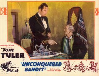 <i>Unconquered Bandit</i> 1935 film directed by Harry S. Webb