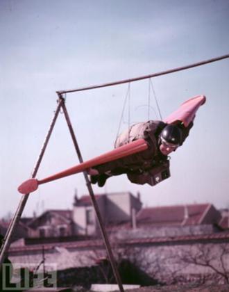 Léo Valentin - Valentin on May 28, 1955