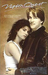 <i>Vision Quest</i> 1985 US coming-of-age sports/romantic drama by Harold Becker