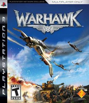 Warhawk (2007 video game) - Image: Warhawk cover
