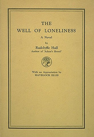 The Well of Loneliness - Cover of the first edition