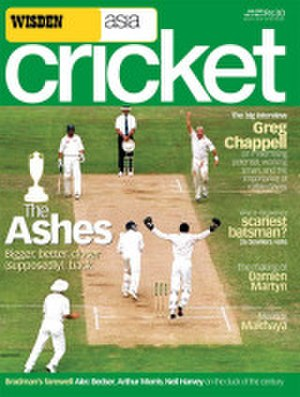 Wisden Asia Cricket - Cover of the final edition of WAC