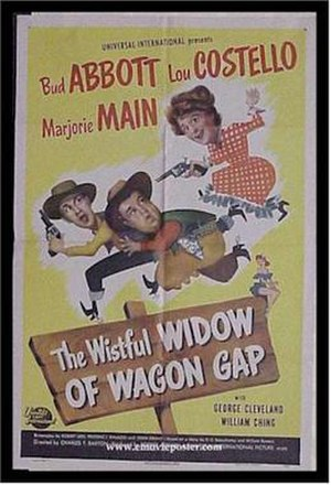 The Wistful Widow of Wagon Gap - Theatrical Poster