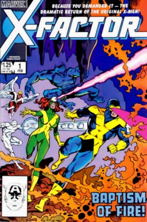 X-Factor (comics) - Image: X factor 1