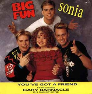 You've Got a Friend (Sonia and Big Fun song) - Image: You've got a friend sonia gary