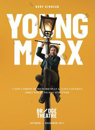 Young Marx (play) - Image: Young Marx Poster