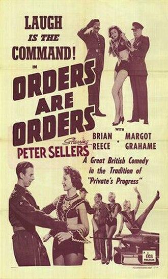 "Orders Are Orders - Image: ""Orders are Orders"" (1954)"