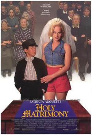 Holy Matrimony (1994 film) - Theatrical release poster