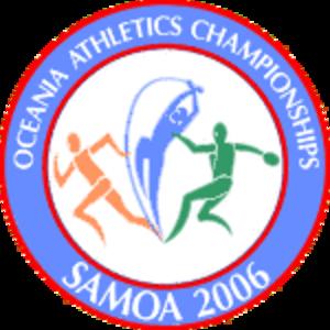 2006 Oceania Athletics Championships - Image: 2006 Oceania Championships Logo