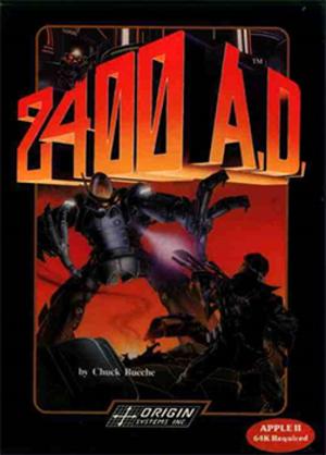 2400 A.D. - Cover art