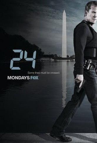 24 (season 7) - Promotional poster