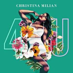 4U (Christina Milian EP) - Image: 4U Christina Milian