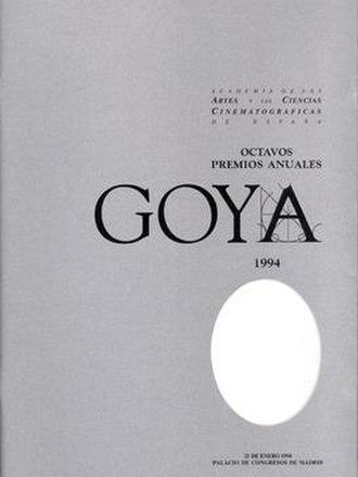 8th Goya Awards - Image: 8th Goya Awards logo
