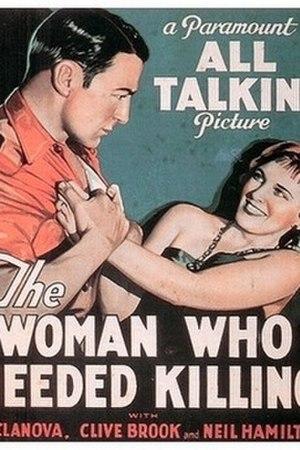 A Dangerous Woman (1929 film) - Image: A dangerous woman (movie poster)