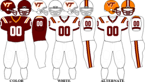 2010 Virginia Tech Hokies football team - Image: ACC Uniform VT 2010