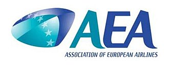Association of European Airlines - Image: AEA Logo 2