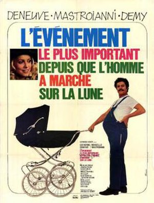 A Slightly Pregnant Man - French poster
