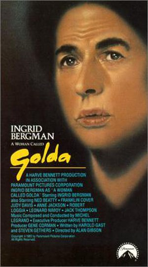 A Woman Called Golda - Ingrid Bergman in A Woman Called Golda
