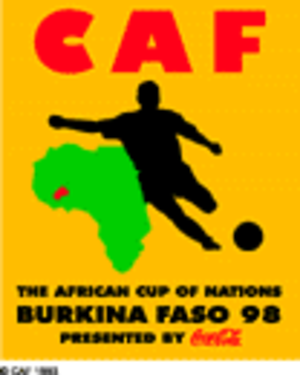 1998 African Cup of Nations - Image: Af 98logo