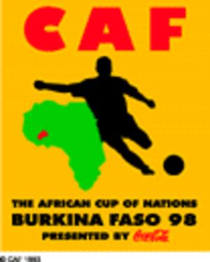 1998 African Cup of Nations - Image: Af 98logo