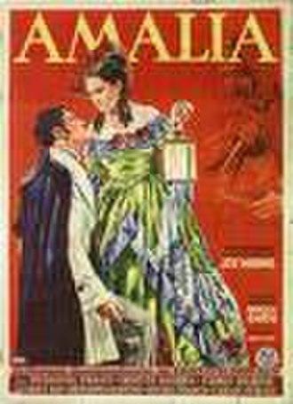 Amalia (1936 film) - Image: Amaliaposter