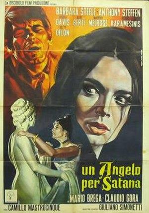 An Angel for Satan - Italian film poster for An Angel for Satan
