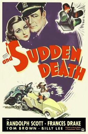 And Sudden Death - Theatrical release poster