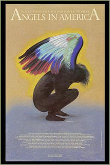 angels in america  angels in america millennium approaches 1993 poster jpg