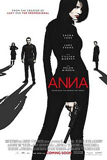 <i>Anna</i> (2019 feature film) 2019 film by Luc Besson