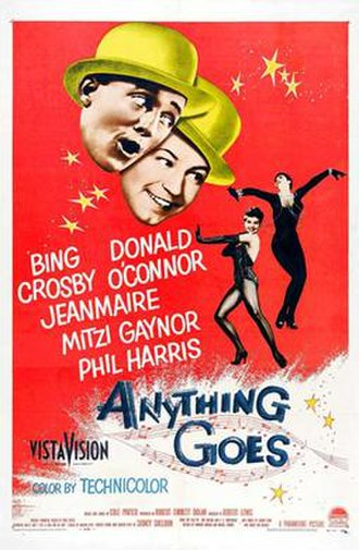 Anything Goes (1956 film) - Image: Anything Goes 1956 Poster