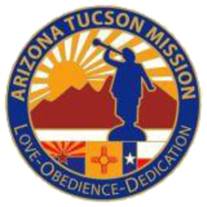 Mission (LDS Church) - Many LDS missions have logos or seals. This was the seal of the Arizona Tucson Mission from 2002–05.
