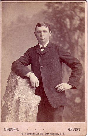 Arthur Steere - Steere as a young man