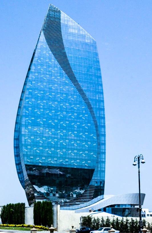 Azersu Tower in 2016