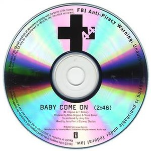 Baby Come On (+44 song) - Image: Baby Come On (+44)
