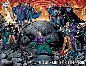 Countdown to Final Crisis - The second teaser image for Countdown, by Ethan Van Sciver.