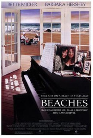 Beaches (film) - Theatrical release poster