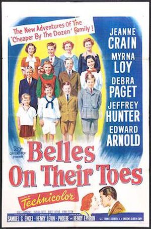 Belles on Their Toes (film) - Theatrical release poster