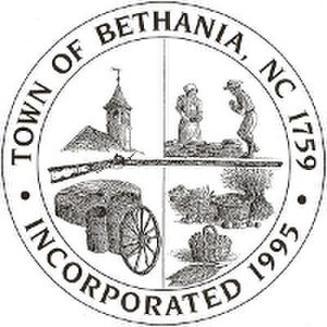 Bethania, North Carolina - Image: Bethania, North Carolina, logo
