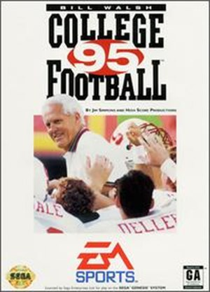 Bill Walsh College Football '95 - Cover art