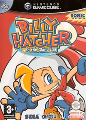 Billy Hatcher and the Giant Egg - European GameCube cover art
