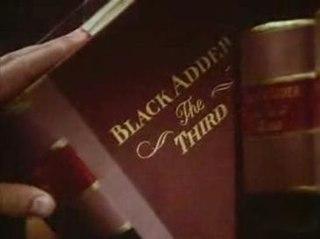 third series of the BBC sitcom Blackadder